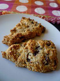 Sweet Treats by Shayna: Paleo Chocolate Chip Orange Scones