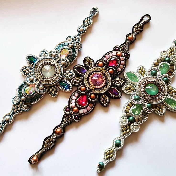 Aurora Ocean Edition ready..Cruise in 2 weeks!! #jewelry #bracelet #soutache