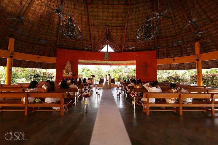 Part of the top 10 Cancun – Riviera Maya church wedding venues at Barceló Maya Beach Resort in Mexico