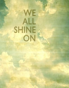 Shine On People… - Republic of You