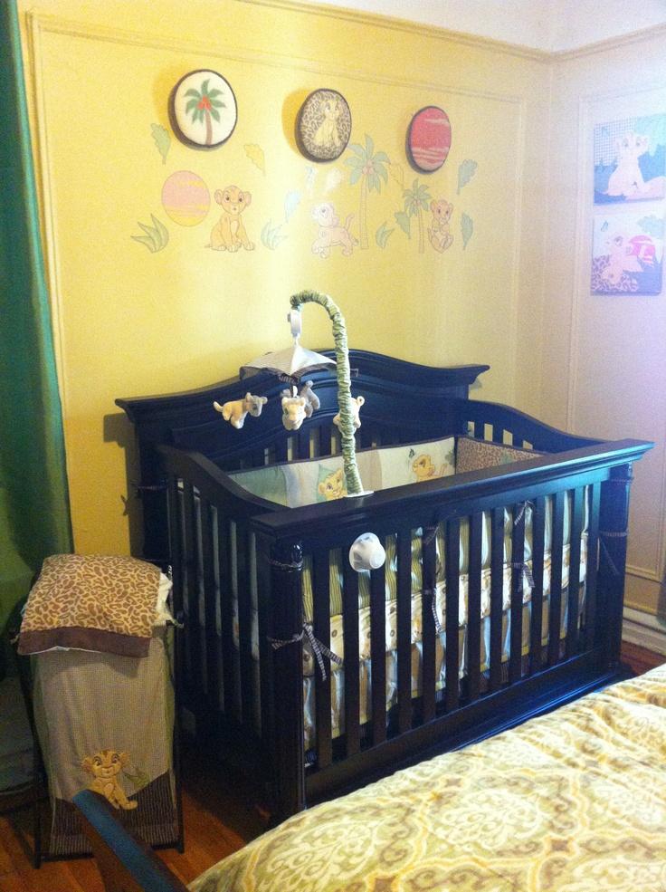 Lion King Baby Room Decor