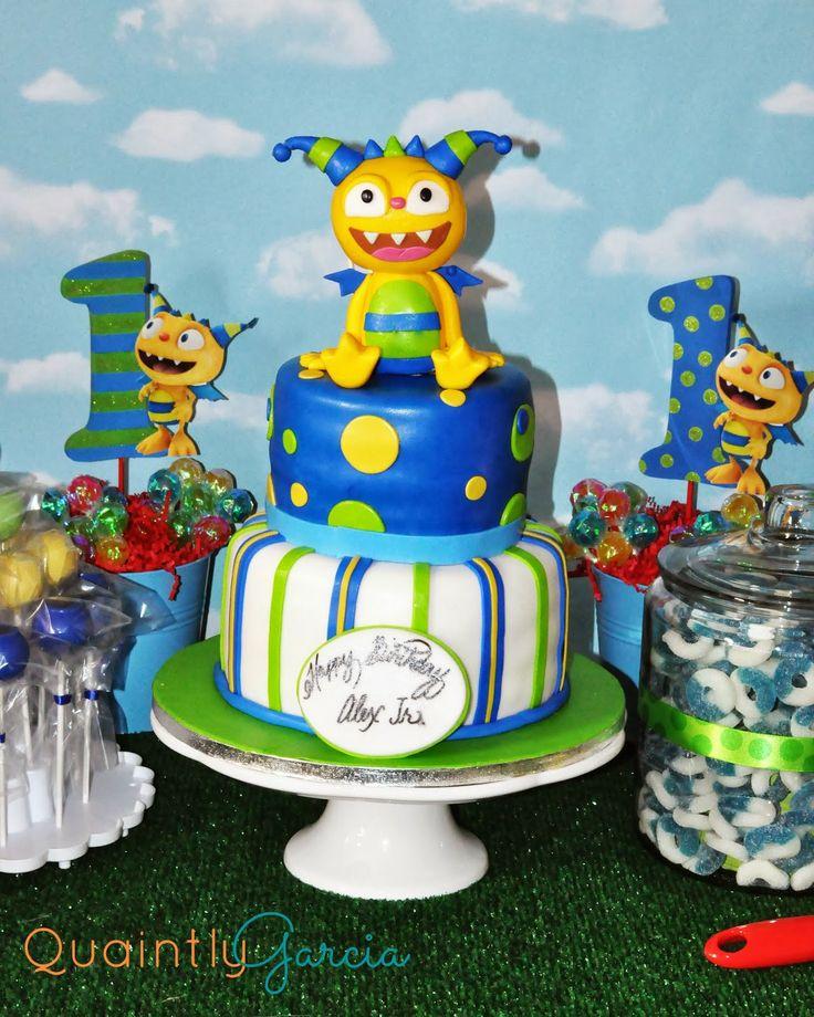 Henry Hugglemonster Cake Decorations