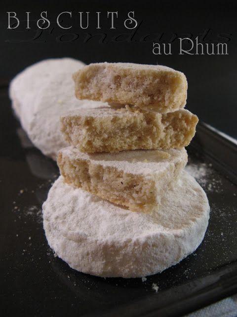 Biscuits Fondants au Rhum (Martha Stewart)