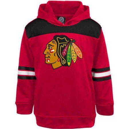 NHL Chicago Blackhawks Youth Team Fleece, Boy's, Size: Medium, Red