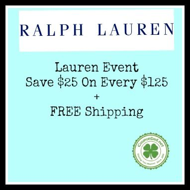 Ralph lauren coupons