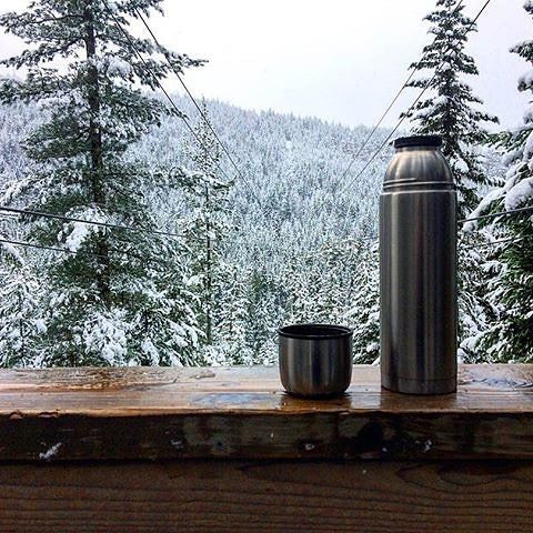 Waking up this morning to ☕️ and that view 👌 🙏 Thank you Whistler!  #ZiptrekLife photo from @adventures_of_katface  .  .  .    #whistler #pnw #beautifulbc #mountainlife #explorebc #adventure