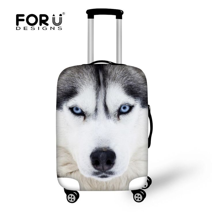 Cool Animal Print Protective Elastic Luggage Cover 3D