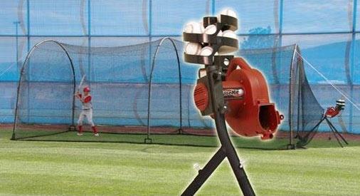 sports direct basehit pitching baseball pitching pitching machine