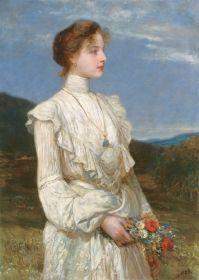 Lotz Károly - Lippich Ilona Portréja, 1894