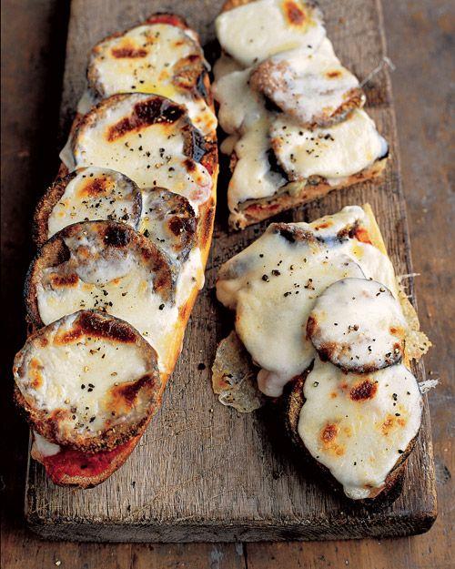 Eggplant & Mozzarella Melt