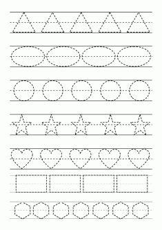 Çizgi çalışma sayfası. Line worksheets. Líneas de trabajo. Линейные листы.