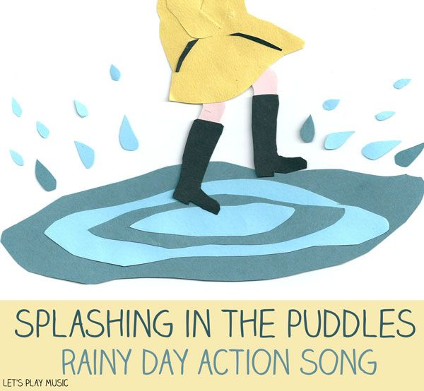 Let's Play Music : Splashing in the Puddles - Rainy Day Songs