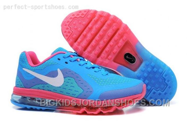 New Cheap Nike Air Max 2014 Kids Shoes For Sale Online Blue Red