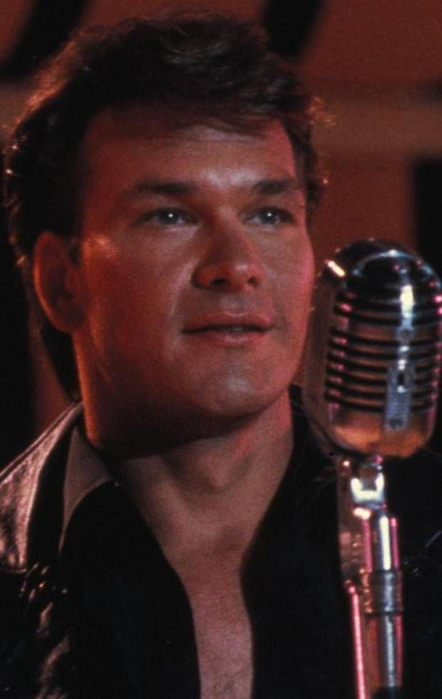 Patrick Swayze aka Johnny Castle..my first celeb.lol. just watched Dirty Dancing tonight! Classic!
