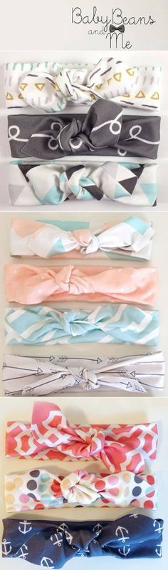 I know these are headbands, but look at the color scheme of the first and third…