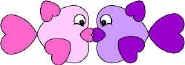 Valentines Paper Heart Animal Patterns