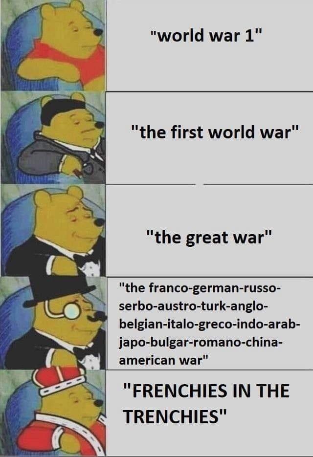 Pooh Ww1 Meme Memes Really Funny Memes Historical Memes History Memes