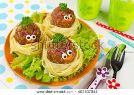 Image result for spaghetti pie looks like a nest