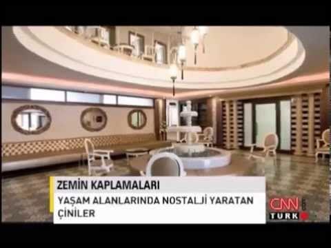 KARO İSTANBUL - CNN TURK - Tasarım Her Yerde 2012 (CEMENT TILES) - YouTube