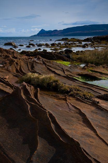 Corrie coastline, Isle of Arran, Scotland