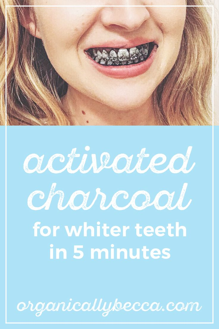 How to Use Activated Charcoal to Get Whiter Teeth in 5 Minutes
