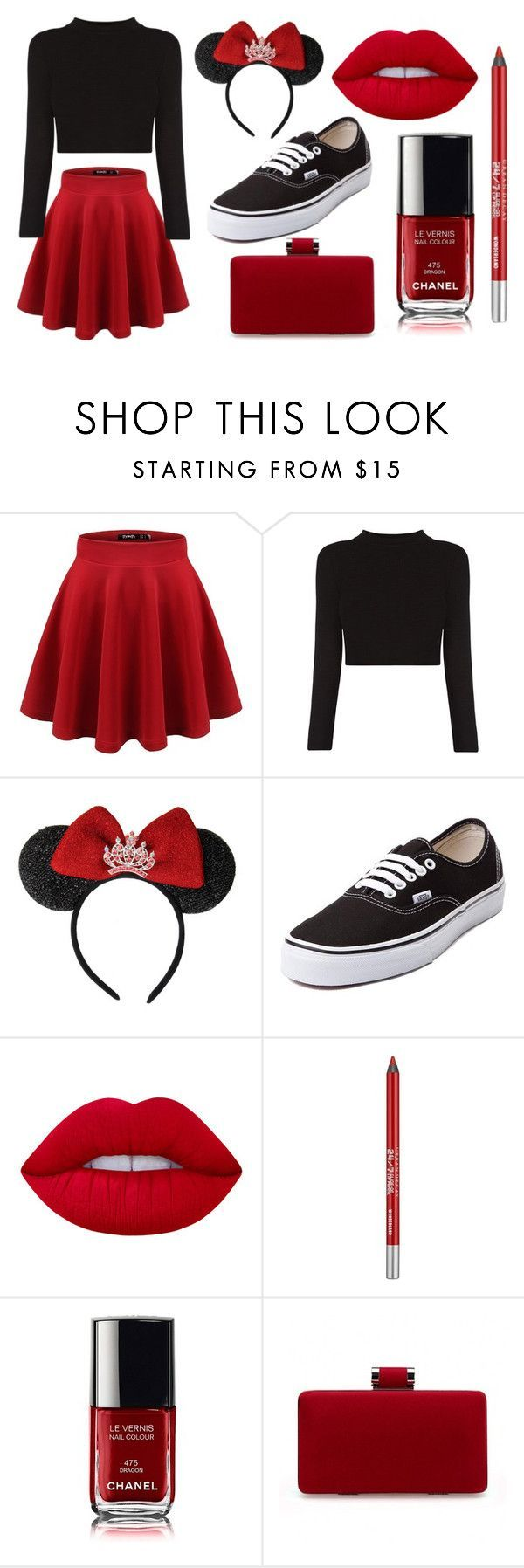 Cute components for a Modern Minnie Mouse. Cute and practical - except I'd need a bigger bag.