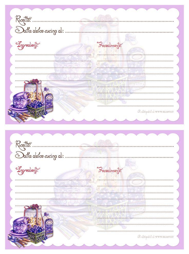 Brownlow Kitchen Recipe Cards