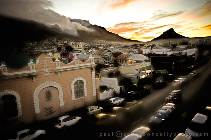 Woodstock, Cape Town--I once lived in Woodstock, at the top of the hill!