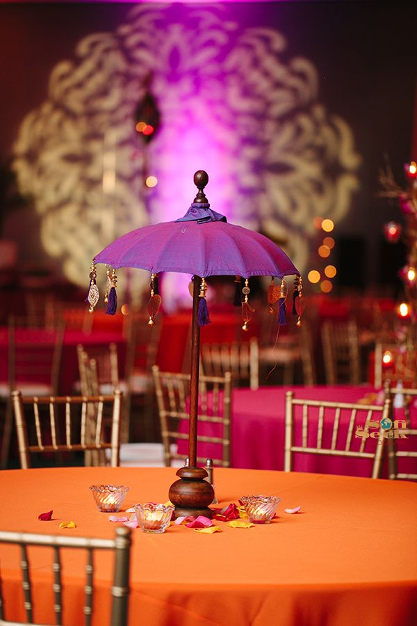 Indian Wedding Inspirations - Centerpiece Ideas & Decorations for Weddings!