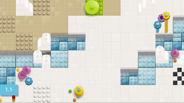 Get Bit moving: Free LEGO online coding games