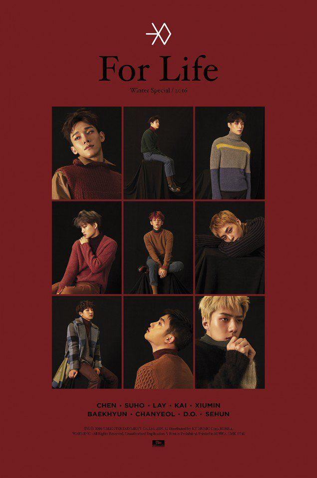 [Релиз] EXO выпустили новый фото-тизер для 「Coming Over」 | YESASIA