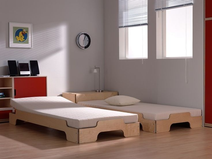 Tolles Dekoration Stapelbett Rolf Heide #17: The Stapelliege Stackable Divan Bed Was Designed As Early As 1966 By Rolf  Heide For The German Manufacturer Müller Möbelwerkstätten And Has Since  Been The ...