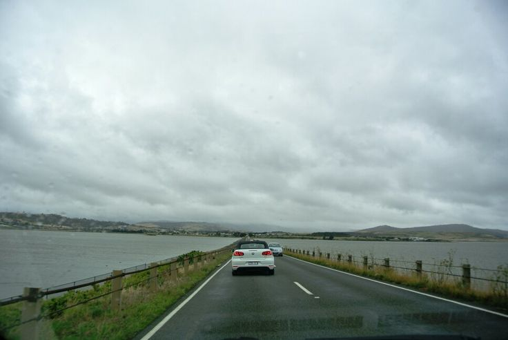 Crossing water between lands, Tasmania