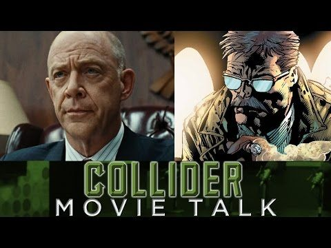 Collider Movie Talk - JK Simmons Cast As Commissioner Gordon In Justice League - YouTube