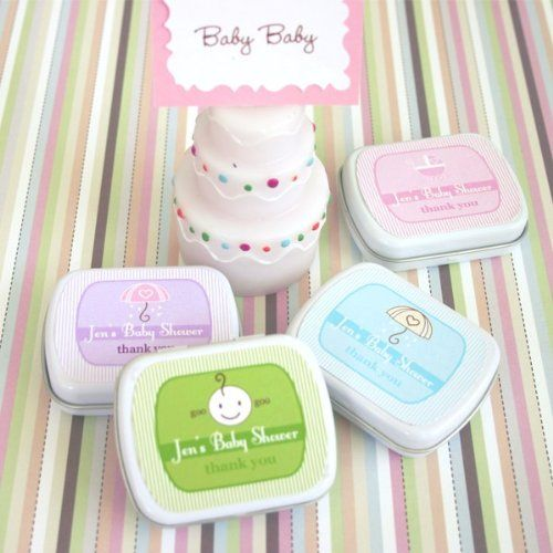 Baby Shower Mint Tins  Total 24 items -- Check out the image by visiting the link.