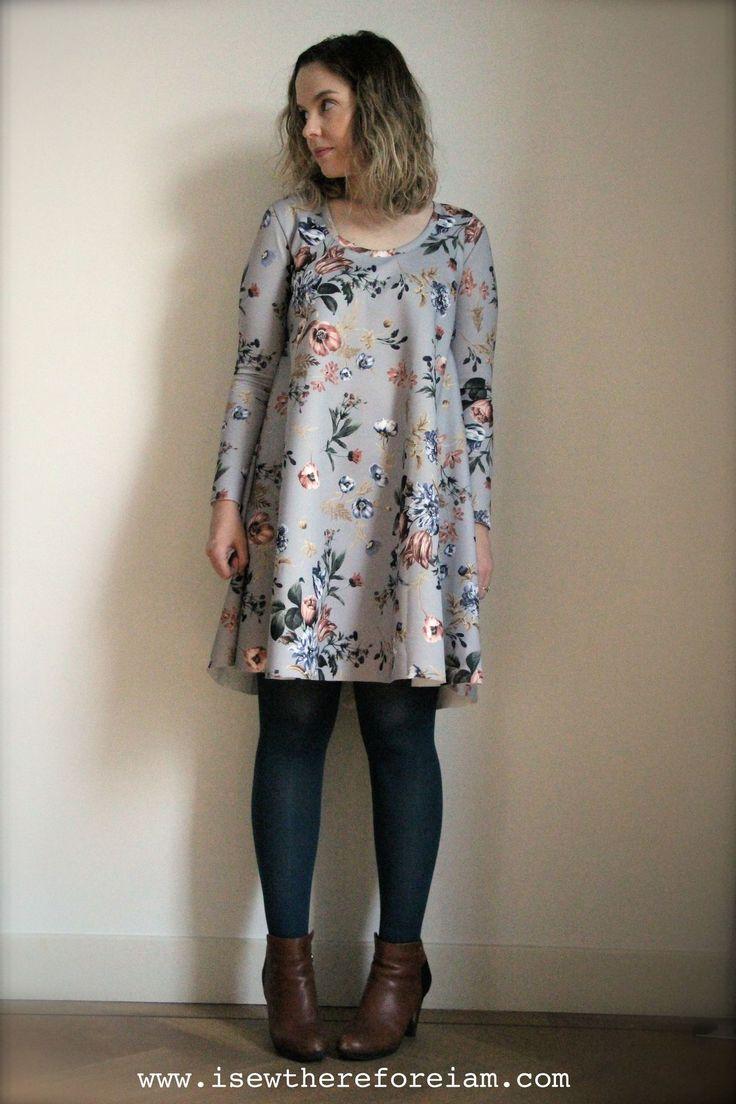 Beck's Ebony Dress // Closet Case Patterns
