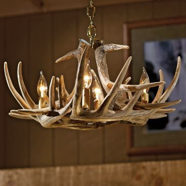 Cabela S Six Antler Reproduction Whitetail Chandelier