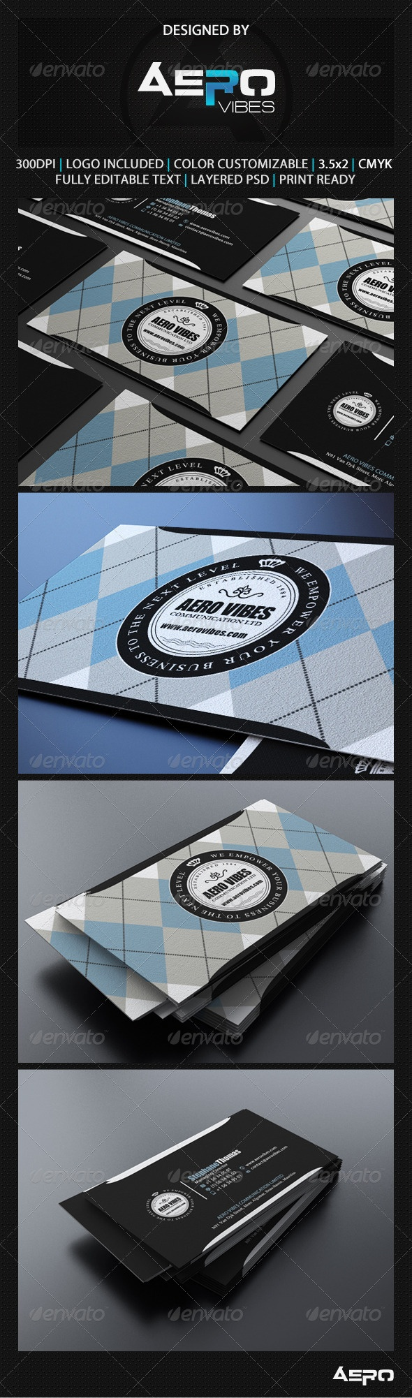 Argyle Business Card
