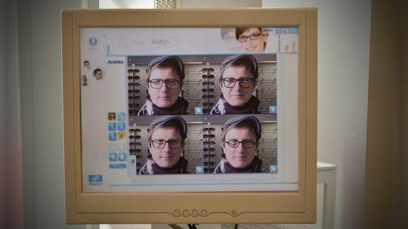 Selfiet ja kuvantamislaite auttavat silmälasien valinnassa | Yle Uutiset | yle.fi