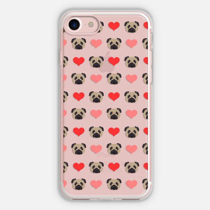 I love Pug Phone Case