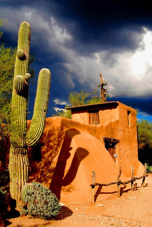 De Grazia Chapel, Tucson, Arizona ~ Photography by Scuba CCK