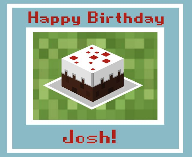 8 best minecraft birthday card images on pinterest minecraft gallery for minecraft birthday card bookmarktalkfo Image collections