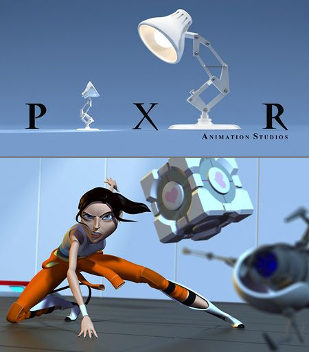 If Pixar Made a Portal Movie... But really, SOMEBODY anybody, please make a Portal movie, just don't make it violent or gory.