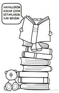 Okul öncesi Kitap Boyama Gazetesujin