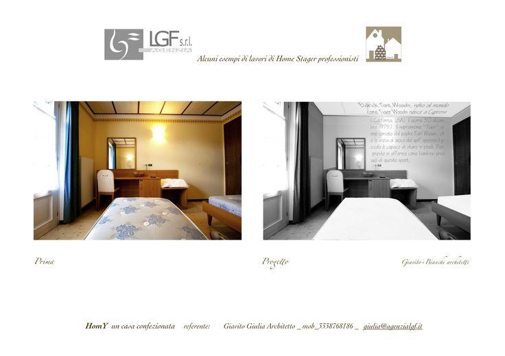 un albergo con mini campo da golf? Ogni camera dedicata ad un BIG e la sua biografia sui muri! di Giulia Giavito Architetto Home Stager