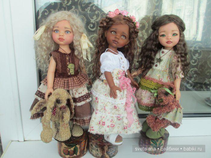 Моя мулаточка Латойа.ООАК куколки Paola Reina. / Paola Reina, Antonio Juan и другие испанские куклы / Бэйбики. Куклы фото. Одежда для кукол