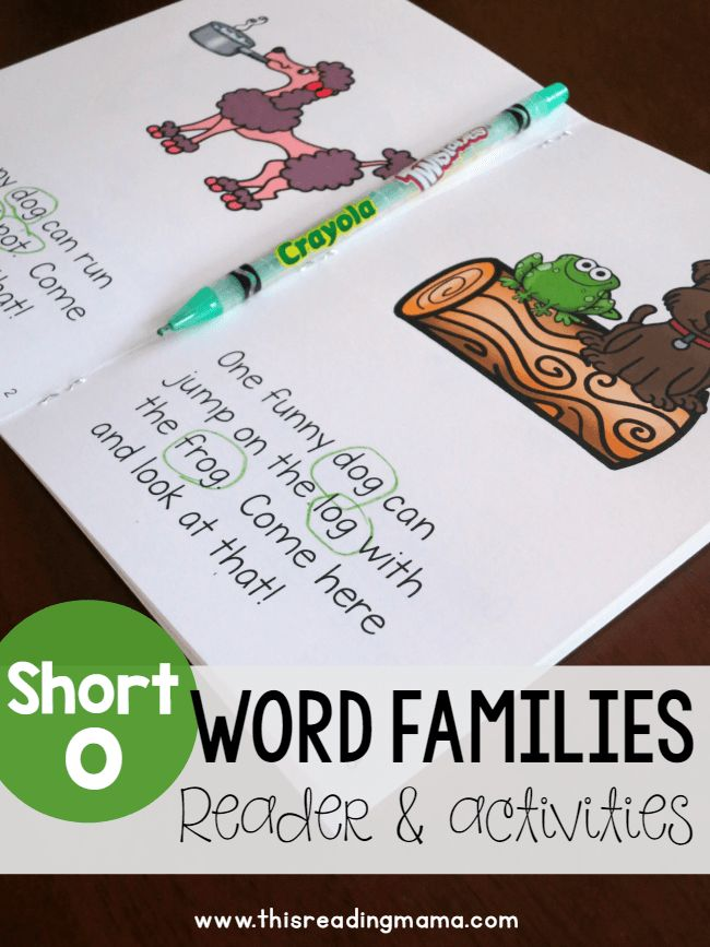 17 Best Ideas About Word Family Activities On Pinterest