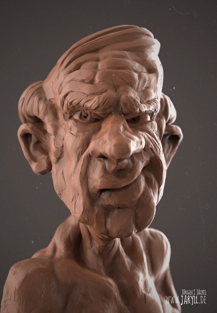 Clay Head (Cartoon)