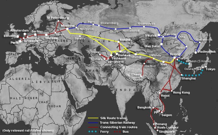 How to travel the Silk Route & Central Asia by train | Train times & information