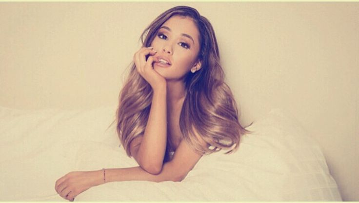 I have to admit Ariana looks older with her hair down.
